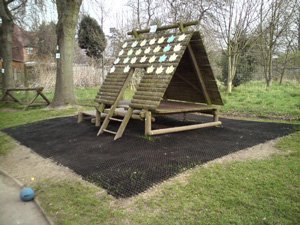 Grass Mats Matting for Play Areas in a School